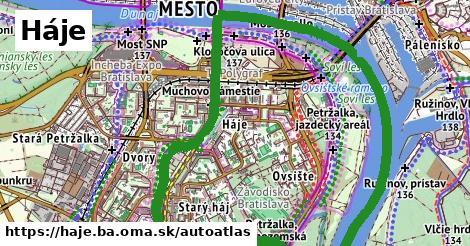 ikona Mapa autoatlas  haje.ba