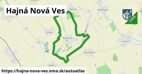 ikona Mapa autoatlas  hajna-nova-ves