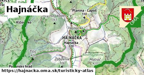 ikona Hajnáčka: 16km trás turisticky-atlas  hajnacka