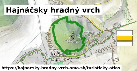 ikona Turistická mapa turisticky-atlas  hajnacsky-hradny-vrch