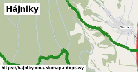 ikona Hájniky: 4,5km trás mapa-dopravy  hajniky