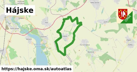 ikona Mapa autoatlas  hajske