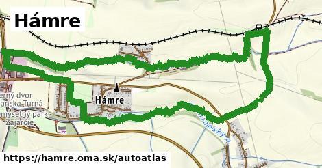 ikona Mapa autoatlas  hamre
