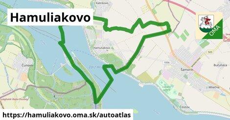ikona Mapa autoatlas  hamuliakovo