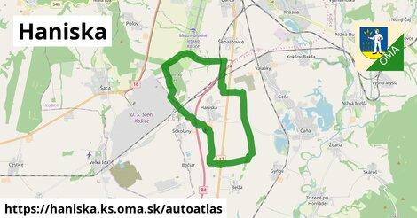 ikona Mapa autoatlas  haniska.ks