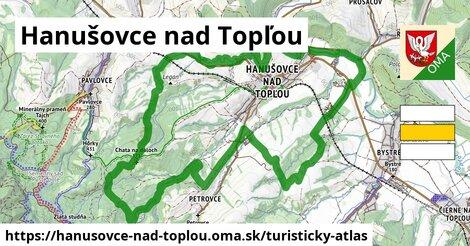 ikona Turistická mapa turisticky-atlas  hanusovce-nad-toplou