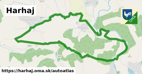 ikona Mapa autoatlas  harhaj