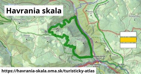 ikona Turistická mapa turisticky-atlas  havrania-skala