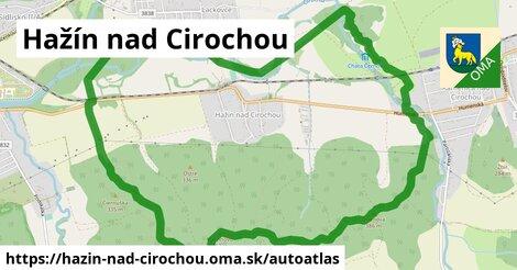 ikona Mapa autoatlas  hazin-nad-cirochou