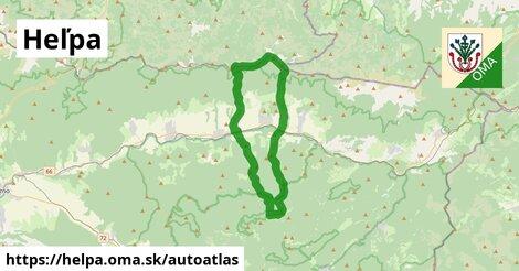 ikona Mapa autoatlas  helpa