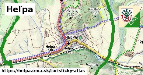 ikona Turistická mapa turisticky-atlas  helpa