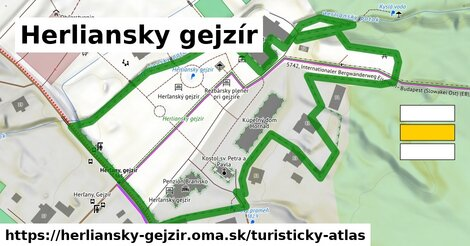ikona Turistická mapa turisticky-atlas  herliansky-gejzir