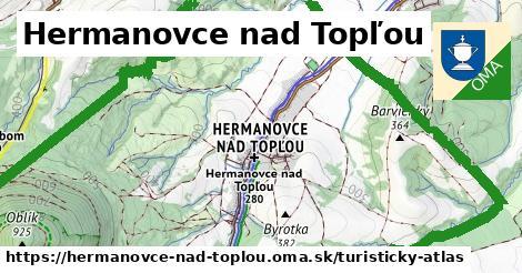 ikona Turistická mapa turisticky-atlas  hermanovce-nad-toplou