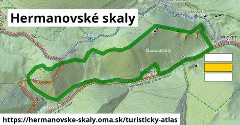 ikona Turistická mapa turisticky-atlas  hermanovske-skaly