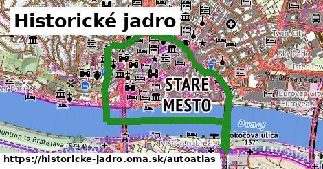 ikona Mapa autoatlas  historicke-jadro