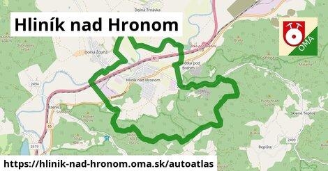 ikona Mapa autoatlas  hlinik-nad-hronom