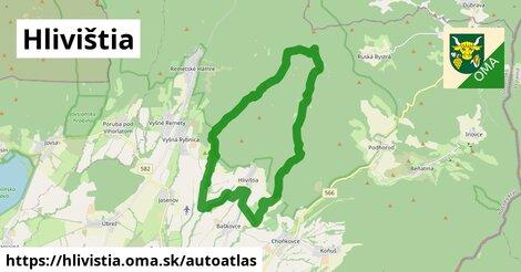 ikona Mapa autoatlas  hlivistia