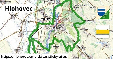 ikona Hlohovec: 12,2km trás turisticky-atlas  hlohovec