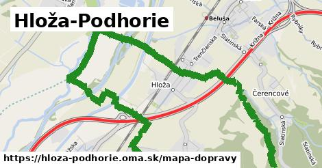 ikona Mapa dopravy mapa-dopravy  hloza-podhorie