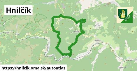ikona Mapa autoatlas  hnilcik