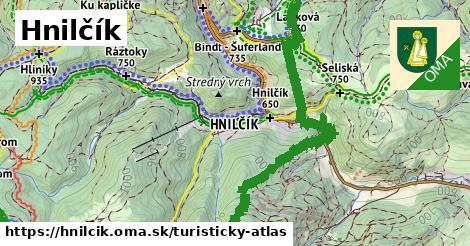 ikona Turistická mapa turisticky-atlas  hnilcik