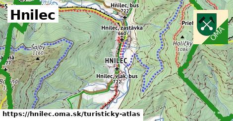 ikona Turistická mapa turisticky-atlas  hnilec