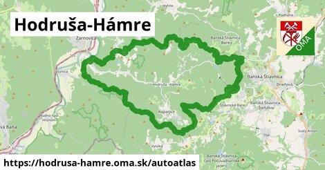 ikona Mapa autoatlas  hodrusa-hamre