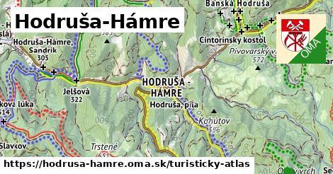ikona Hodruša-Hámre: 49km trás turisticky-atlas  hodrusa-hamre