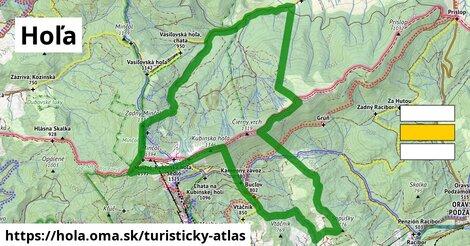 ikona Hoľa: 20km trás turisticky-atlas  hola