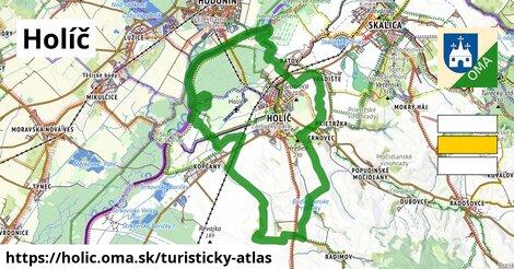 ikona Holíč: 24km trás turisticky-atlas  holic