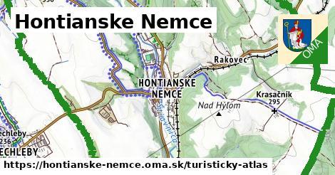ikona Hontianske Nemce: 12,0km trás turisticky-atlas  hontianske-nemce