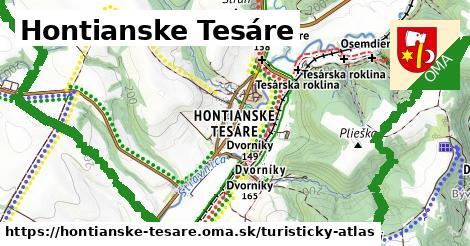ikona Turistická mapa turisticky-atlas  hontianske-tesare