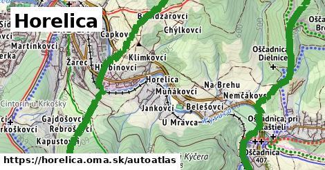 ikona Mapa autoatlas  horelica