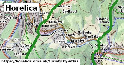 ikona Horelica: 11,4km trás turisticky-atlas  horelica