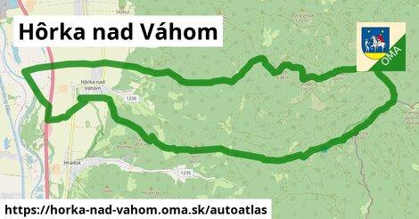 ikona Mapa autoatlas  horka-nad-vahom