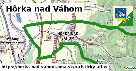 ikona Turistická mapa turisticky-atlas  horka-nad-vahom