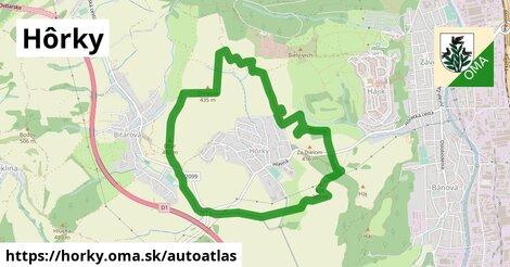 ikona Mapa autoatlas  horky
