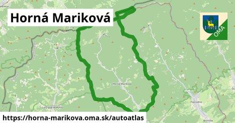 ikona Mapa autoatlas  horna-marikova
