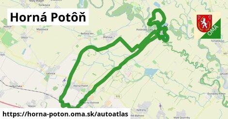 ikona Mapa autoatlas v horna-poton