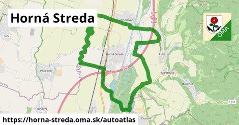 ikona Mapa autoatlas  horna-streda