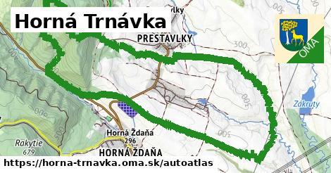 ikona Mapa autoatlas  horna-trnavka