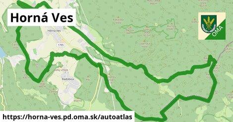 ikona Mapa autoatlas  horna-ves.pd