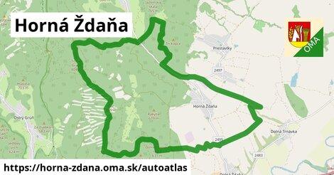 ikona Mapa autoatlas  horna-zdana