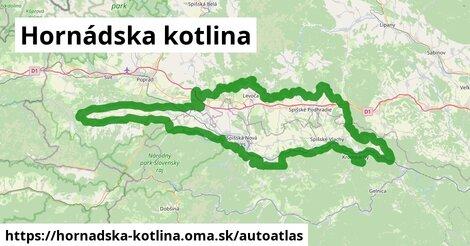 ikona Mapa autoatlas  hornadska-kotlina