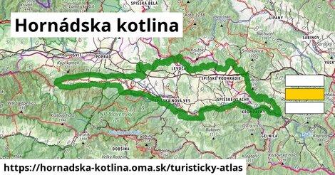 ikona Turistická mapa turisticky-atlas  hornadska-kotlina