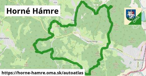 ikona Mapa autoatlas  horne-hamre
