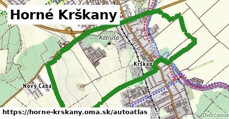 ikona Mapa autoatlas  horne-krskany