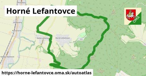 ikona Mapa autoatlas  horne-lefantovce