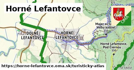 ikona Turistická mapa turisticky-atlas  horne-lefantovce