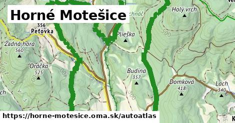 ikona Mapa autoatlas  horne-motesice